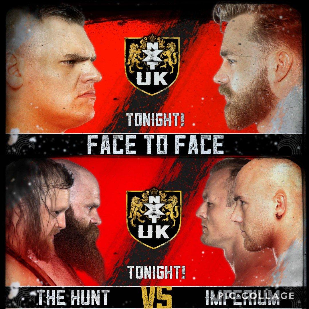 BIG showdowns tonight.#NXTUK#NXT#NXTUKTakeoverCardiff#WeAreNXT