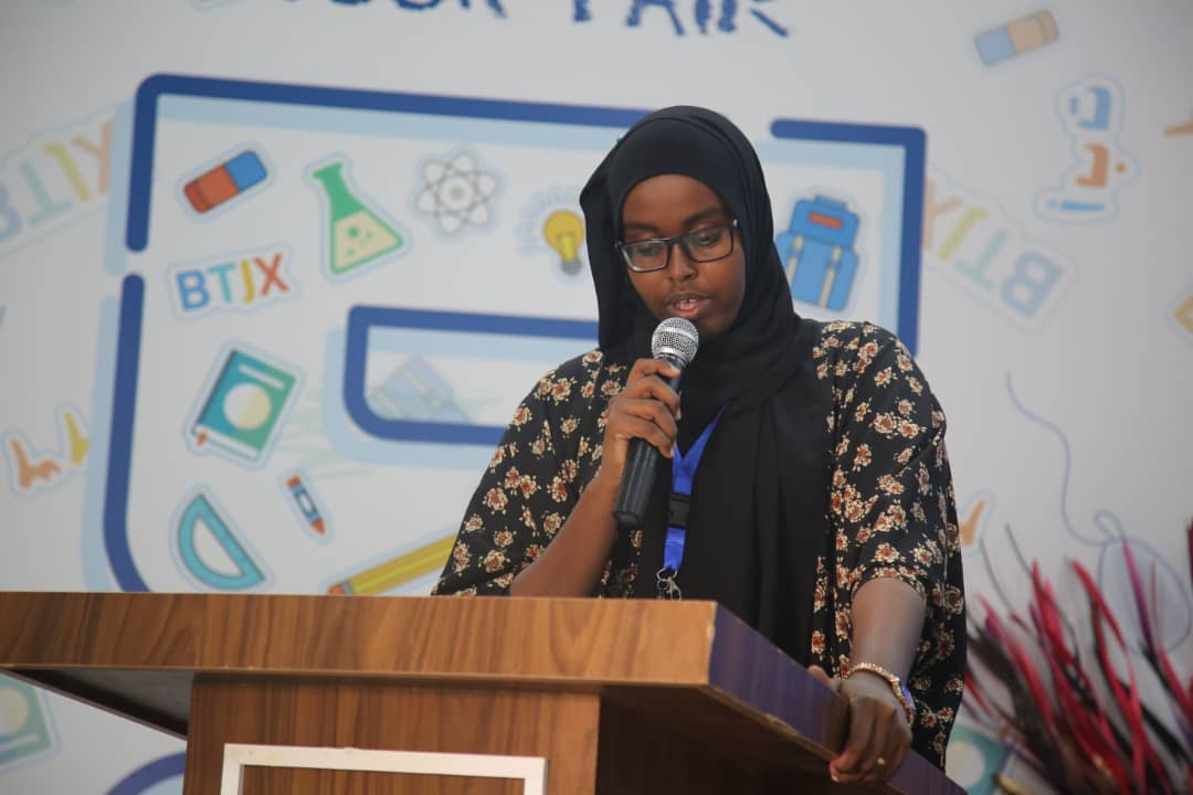 Panel: Youth Experiences in Educational spaces  Mu'min ali chair of somalia students union and Abdisalam Barkhadle - chairman of somali youth umbrella in jigjiga Ethiopia and ather students under 35years Moderator: Hidaya Mohamed – Student at Simad University  @MogBF  #MBF2019<br>http://pic.twitter.com/GTn9ayW7ro