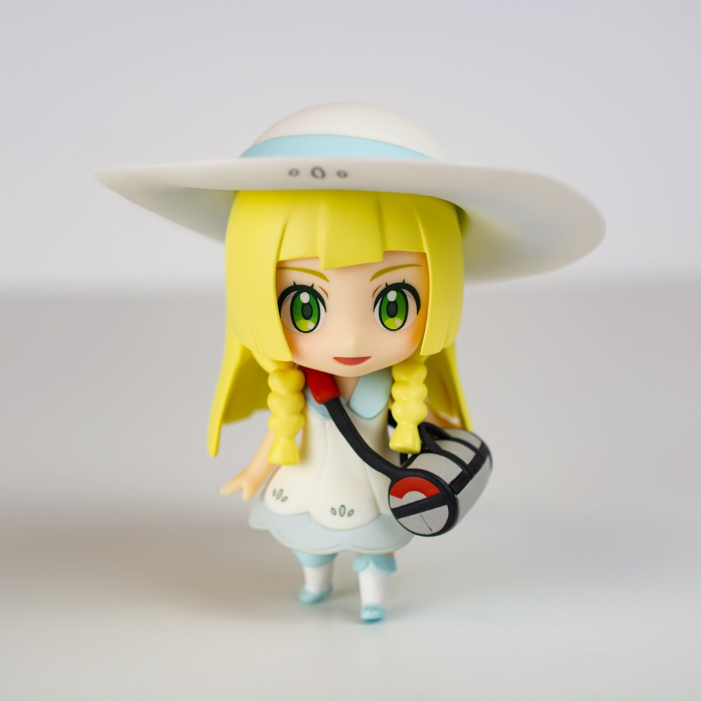 Hey Trainers! The Nendoroid of Lillie is now back in stock at #NintendoNYC available for $49.99! She comes with three face plates, hat, bag, and even a Cosmog to display by her side! This Nendoroid of Lillie is perfect addition to your #Pokemon collection!