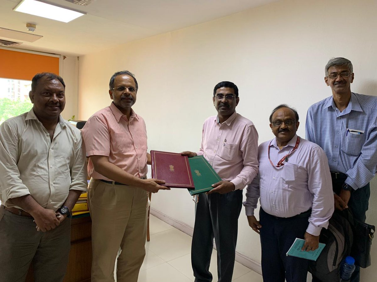 test Twitter Media - #MSH : Meity Startup Hub (MSH) signed an MoU with Indian Science & Technology Entrepreneur Parks & Business Incubators Association (ISBA) to promote start-ups & support tech incubators of the country @PMOIndia @rsprasad @isbaindia @_DigitalIndia @IndiaDST @nasscom @startupindia https://t.co/m7yp0Z8zad