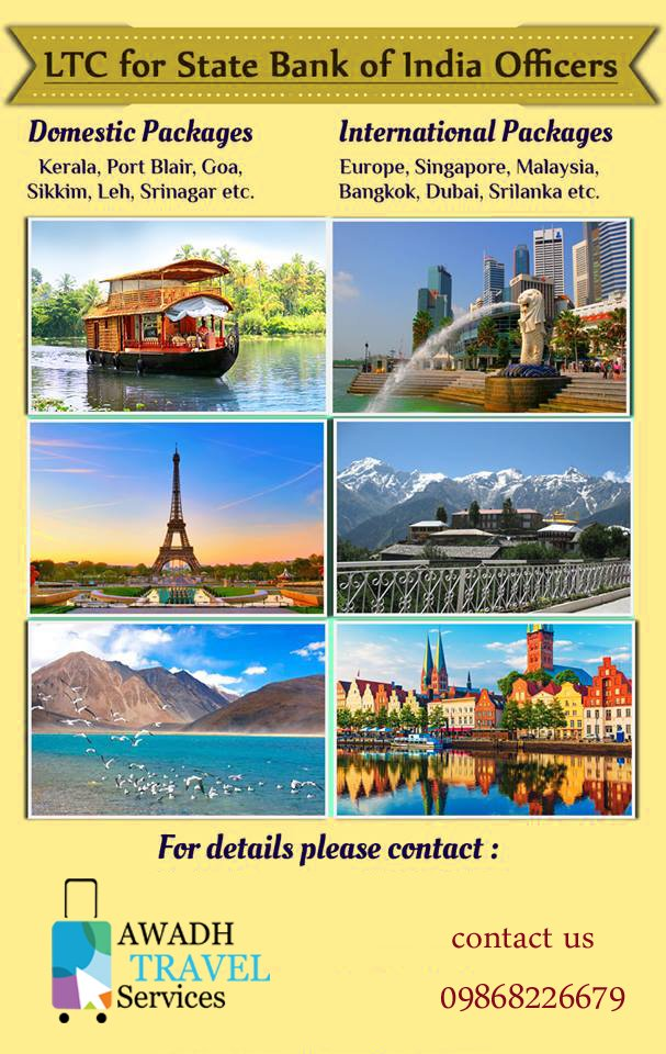 Great offer for Govt. Employees!! Get the best deal on LTC Packages only at Awadh Travels & Services Call Now for more details. #LTCPackages #statebankofindia #HolidayPackages <br>http://pic.twitter.com/8qWpu4mK0o