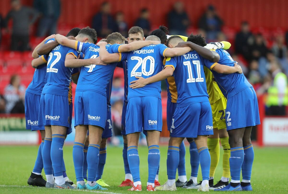 Missed nights like that!! Great character from the boys to fight back and get the 3 points! Enjoyed that one🔥🔷🔶 @shrewsweb https://t.co/ArOkHxebql https://t.co/3KPlY8RZtZ