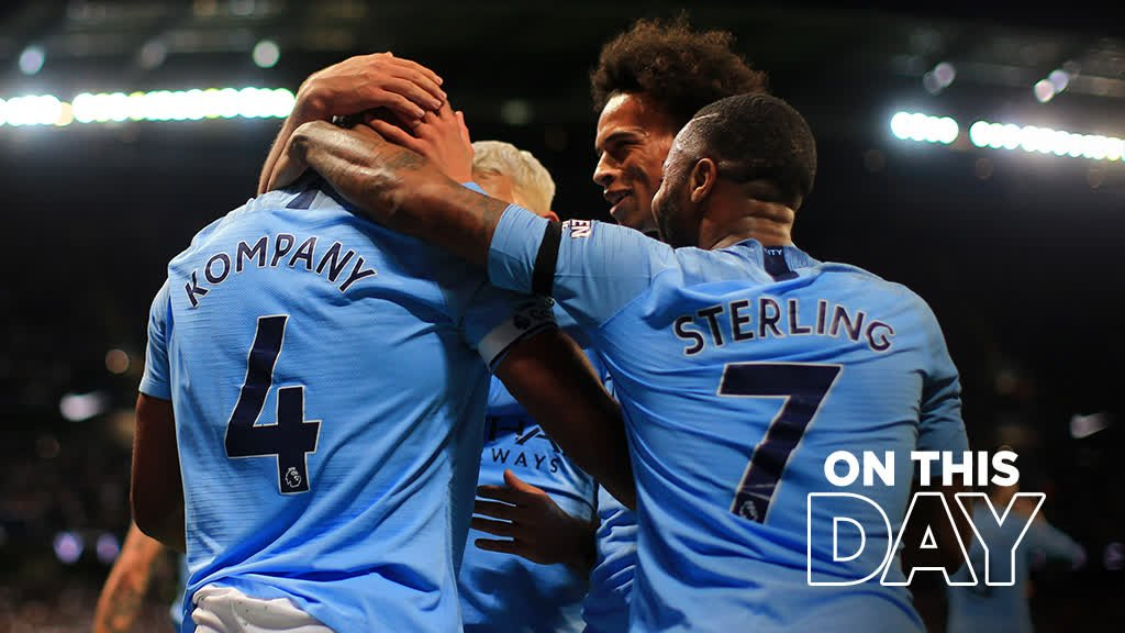 #OnThisDay we signed the one and only @VincentKompany 🙌The perfect excuse to watch this goal over and over again! 🤤🔵#mancity
