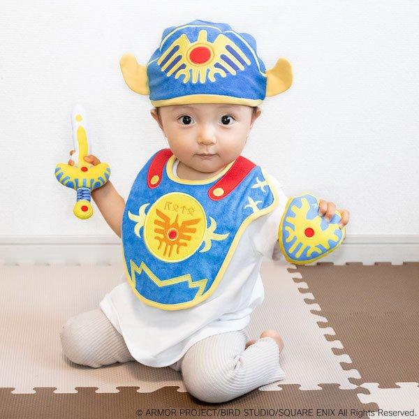 プレゼントしたい…!「ドラクエ」赤ちゃんグッズがまさに勇者誕生! 勇者に贈る宝箱セットが予約受付中