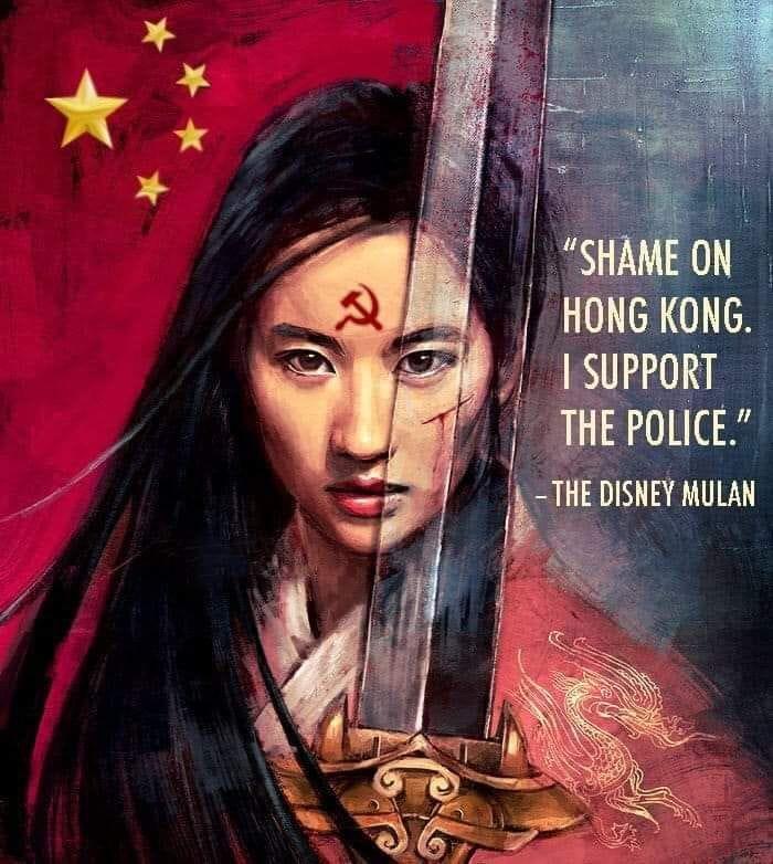 Boycott mulan of LENIN. #BoycottMulan   We stand with Hong Konger, Uyghurs and Tibetans.  Everybody go Twitter up #BoycottMulan   Reject fake Kid rights, Fake women power. @BitterWinterMag <br>http://pic.twitter.com/NbigkAKTjb