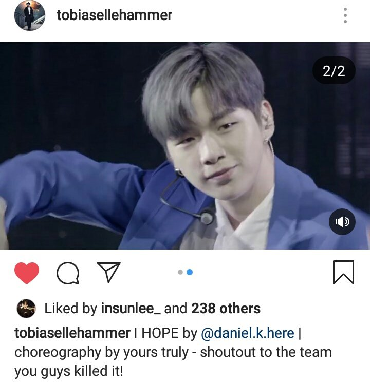 Tobias new post about Daniel and his dance crew!!     https://www. instagram.com/p/B1bD-cQAacq/ ?igshid=26h7l21czkh6  …   #강다니엘 #KangDaniel @danielk_konnect<br>http://pic.twitter.com/MlMbv8mGxL