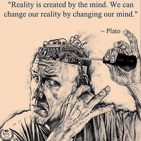 We can change our reality by changing our mind !#Plato #Mind