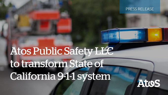 Atos Public Safety LLC signs $198 USD million contract to empower State of California...