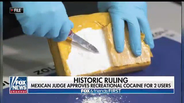 In a 'historic' ruling, a judge in Mexico approves of recreational cocaine use.