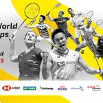 Image for the Tweet beginning: The @bwfmedia #Badminton World Championships
