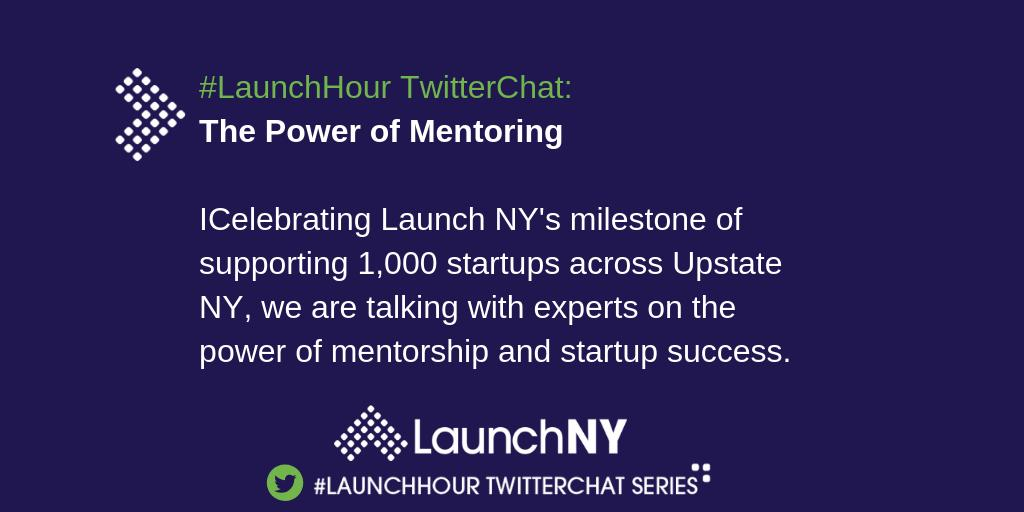 Today's #LaunchHour Topic: The Power of Mentoring for #Startups <br>http://pic.twitter.com/d8dP5tzMZi