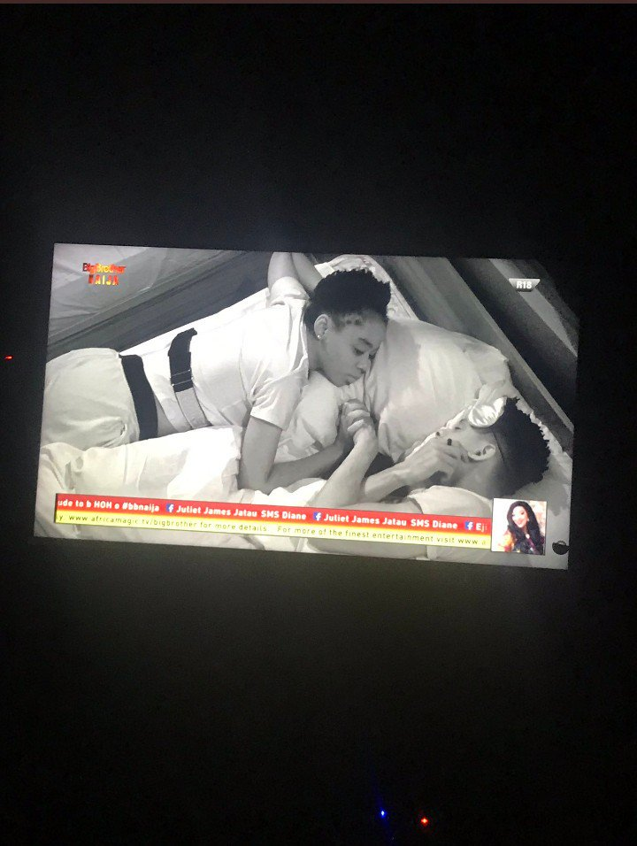 I want to see only Elo and Diane on my screen. Kayode you better take note of this. #BBNaija <br>http://pic.twitter.com/o0UaakJyE3