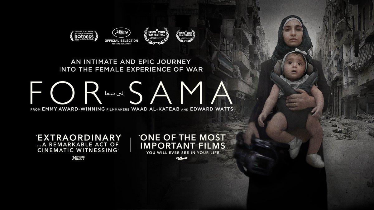 Resultado de imagen de For Sama (Waad Al-Kateab, Edward Watts) BFI