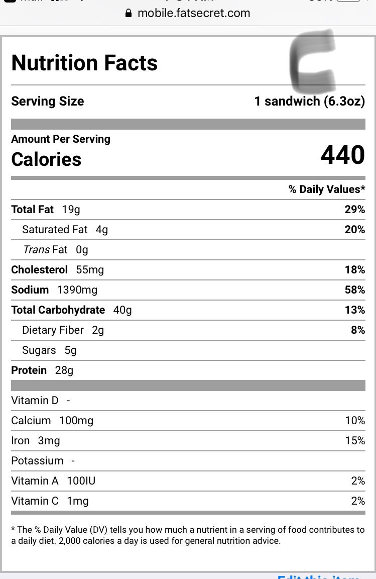 calories in popeyes new chicken sandwich