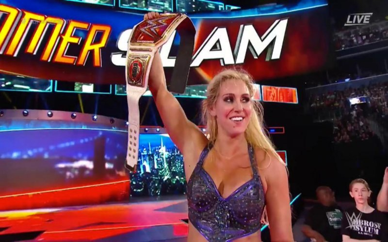 On this day in 2016, @MsCharlotteWWE won the WWE Women's Championship for the 2nd time at SummerSlam #WWE #SummerSlam #WomensTitle