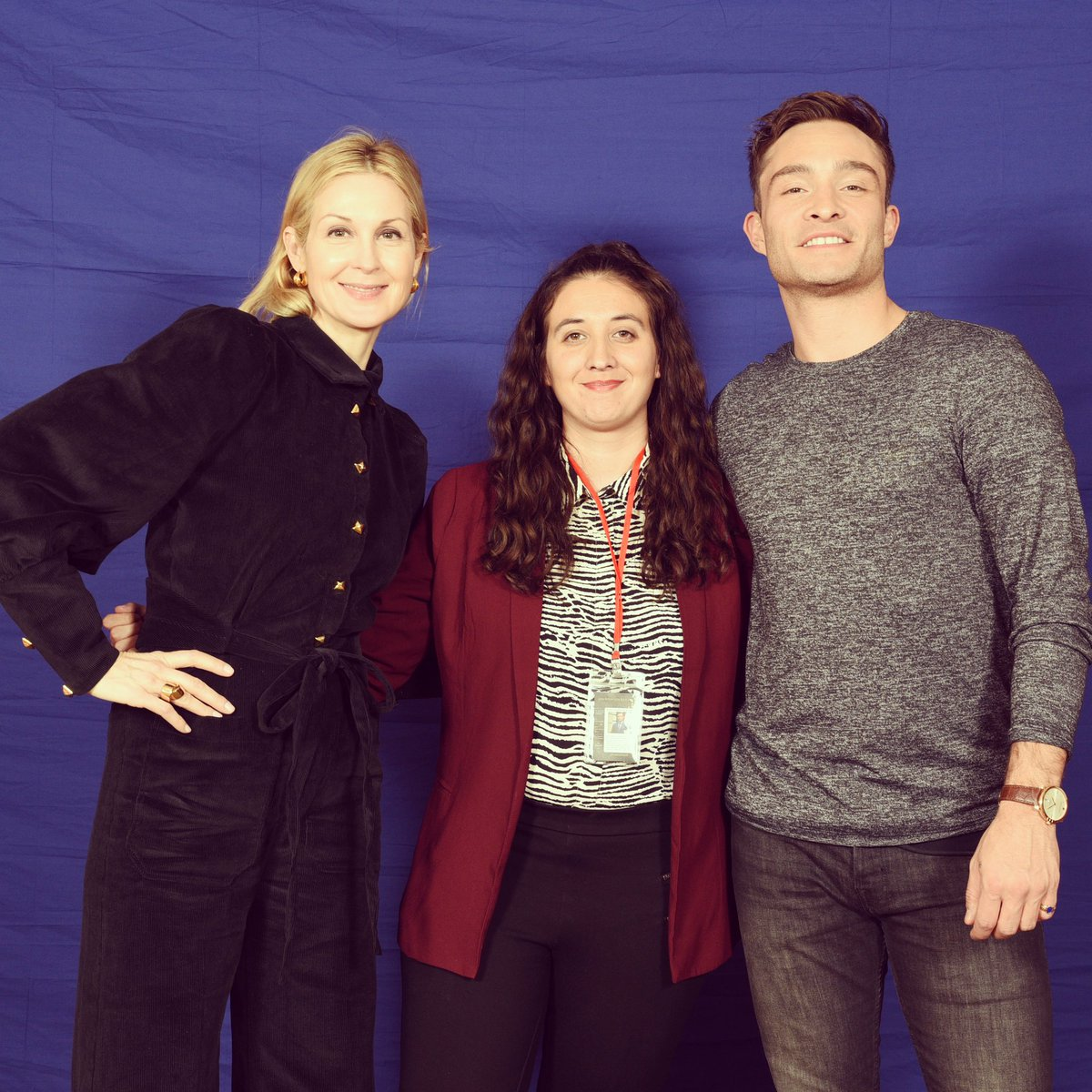 After Paris it will be cool to meet you again in Germany for #GermanComicCon @KellyRutherford ❤️☺️ (hello @EdWestwick 😏) #GossipGirl