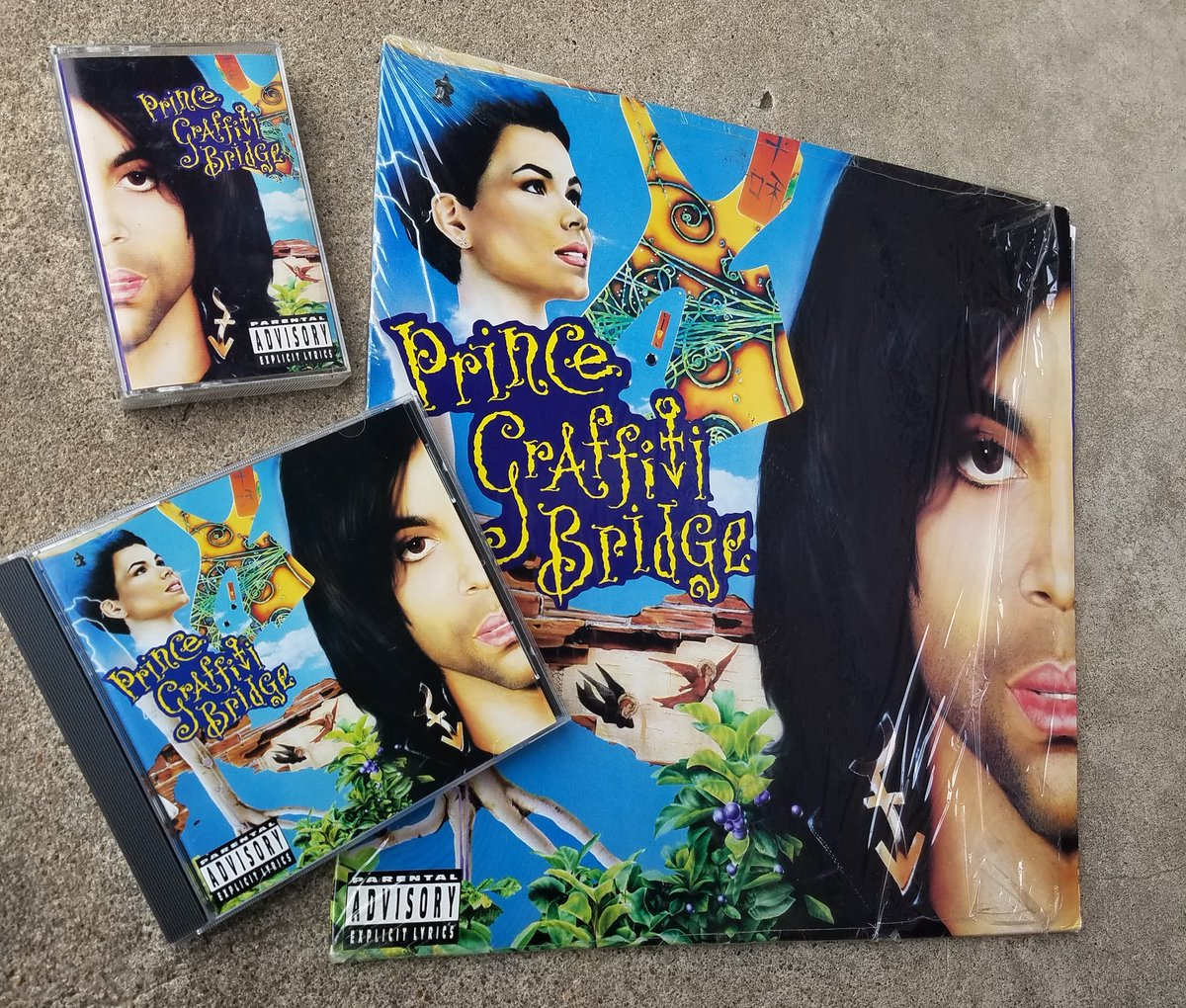 #NowPlaying Graffiti Bridge   Graffiti Bridge is the twelfth studio album by Prince and is the soundtrack album to the 1990 film of the same name. It was released on August 21, 1990 by Paisley Park Records and Warner Bros. Records.  #Prince4Ever  <br>http://pic.twitter.com/jdqV9No0ZQ