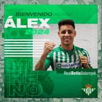 Image for the Tweet beginning: 📢OFICIAL: Álex Moreno llega para