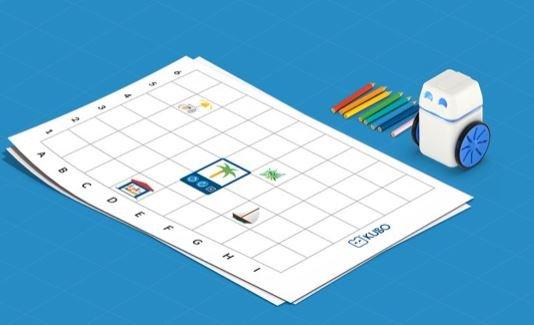 Heb je een #KUBO robot? Dan kun je vanaf nu online je eigen kaarten ontwerpen in MapMaker (beta)! kubo.education/map-maker/ - #onderwijs #bibliotheek #programmeren