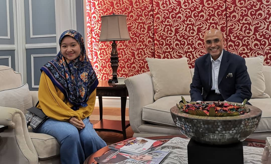 Nice to catchup with @lealias_ on short break from her one-year GMP at JIU Tokyo as recipient of MSU President Appreciation Award for Leadership & Sportmanship 2018. Glad that she enjoyed the stay so much & is able to converse in Japanese already. Awesome!!! @MSUmalaysia<br>http://pic.twitter.com/XwOCeLCipK