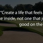 Image for the Tweet beginning: #WednesdayWisdom #TPCRiverHighlands #PlayTPC #Connecticut #Summer