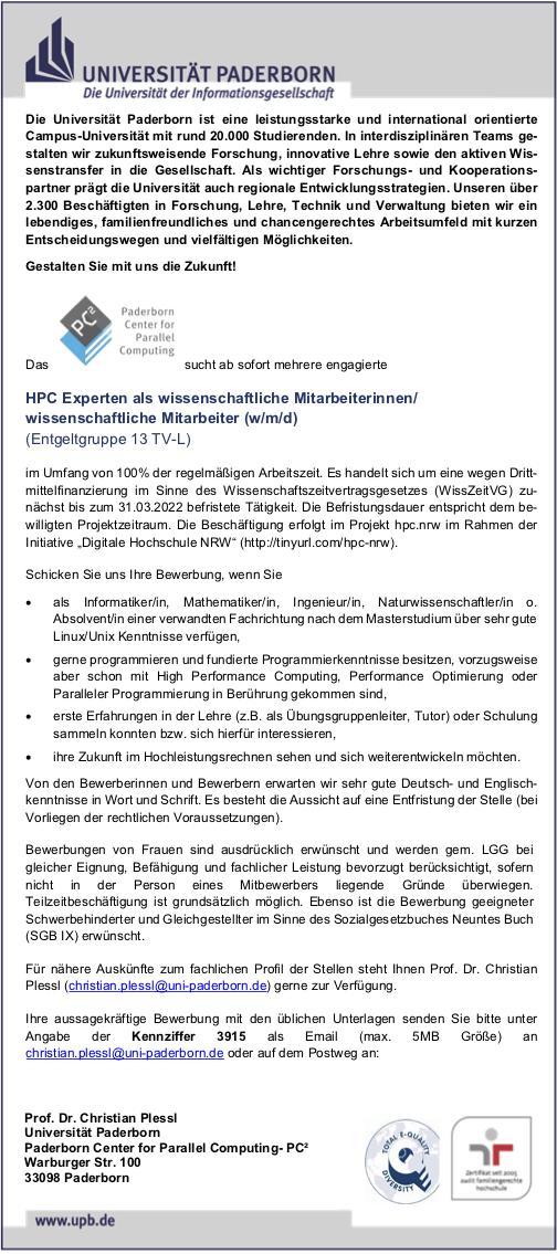 Zv Formalitaten Universitat Paderborn