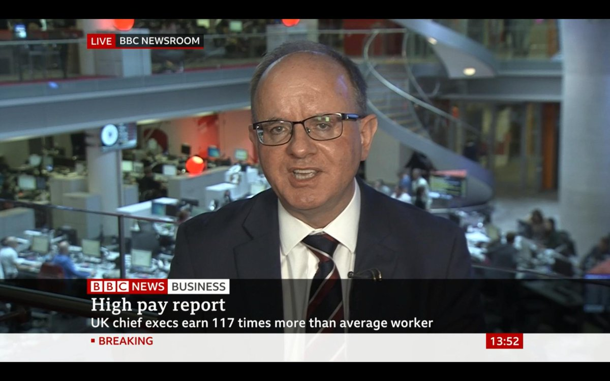 📺 Our Research Adviser, @CharlesMCotton on @BBCBusiness discussing our latest #ExecPay report. Read the full report: bit.ly/2NntRmw Discover the truth about executive pay here: bit.ly/2Hhmqta