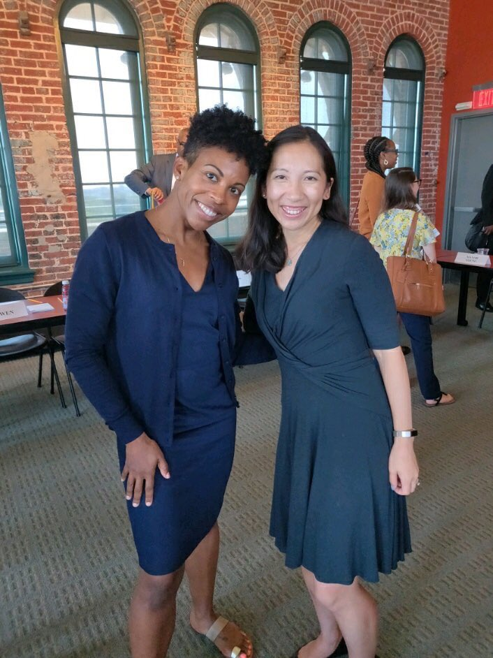 """Yesterday, I presented on the """"Preventing, Treating, and Healing Childhood Trauma in Baltimore City"""" hosted by @repcummings. I appreciate the opportunity and I am so glad to be in a room with such passionate public health leadership! @DrLeanaWen #bmorehealthy #mybmore <br>http://pic.twitter.com/tfGO1AgpQz"""