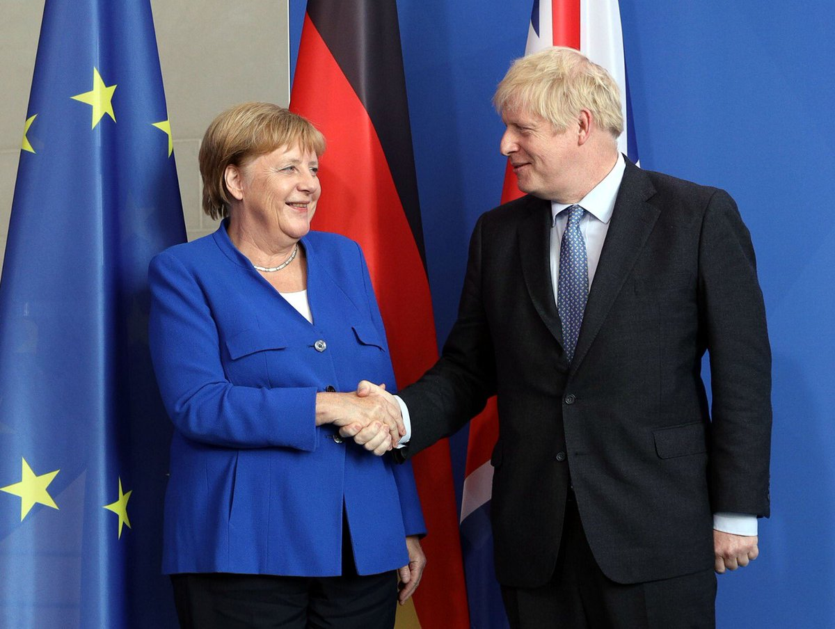 Today I travelled to Berlin to meet with Chancellor Merkel. This is a relationship that is so important for the UK, there are so many areas in which we work powerfully together. We in the UK want a deal and I believe that we can get one. <br>http://pic.twitter.com/tbDgbhhuc6