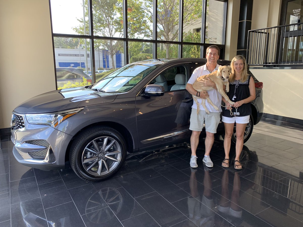 Congratulations to Jason and Michelle Mann on their new 2020 RDX! #happycustomers #happyclients #acura