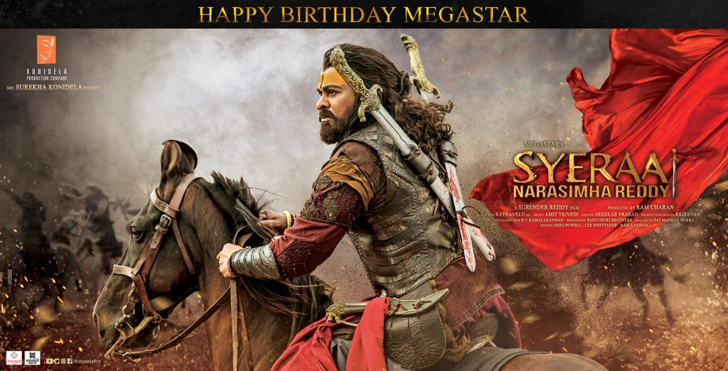 He is the undisputed king of Telugu cinema. It was such an honour to work with d megastar himself. His personality d on screen presence is unmatched.Wishing #Chiranjeevi garu,good health & happiness always! #HBDMegastarChiranjeevi  #SyeRaaNarasimhaReddy in theatres from Oct 2nd. <br>http://pic.twitter.com/Z8fn3zrZNU