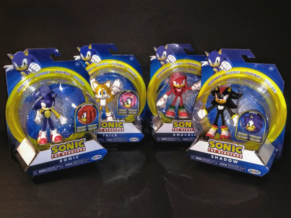 Jcgroovez On Twitter After Making Multiple Trips To Target I Finally Got The Whole First Wave Of Jakkstoys Sonic The Hedgehog Bendable Figures Https T Co Uhcqnbzonf