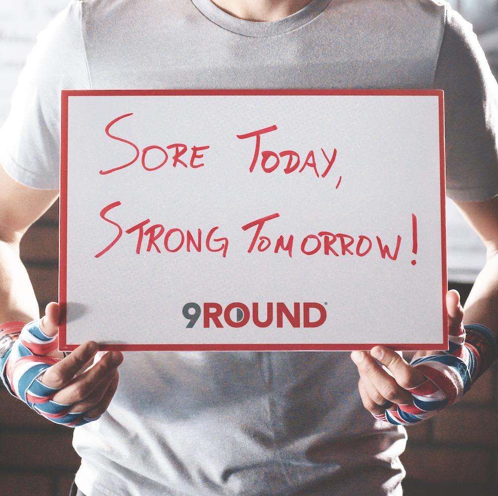It's all about being stronger than you were yesterday! Favorite if you agree, #9RoundNation!   #9Round #SoreTodayStrongTomorrow #Fitspo #Motivation #Fitness<br>http://pic.twitter.com/SWmjx81muv