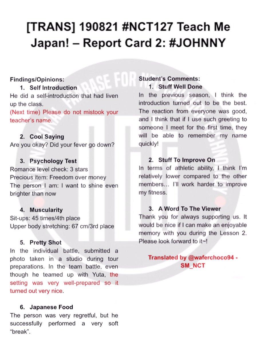 NCT 127 おしえてJAPAN! on Twitter: