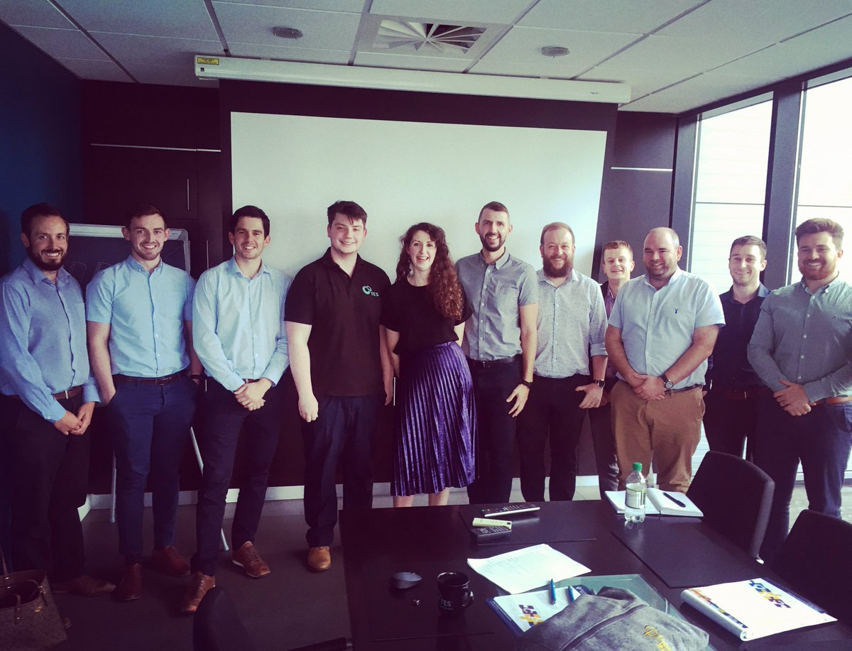 test Twitter Media - Thanks to Katie Daffy from @EngineerIreland who has visited TES HQ and provided advice and guidance to our staff about furthering their career development. #engineersireland #careerdevelopment #staff https://t.co/36TQBXyWim