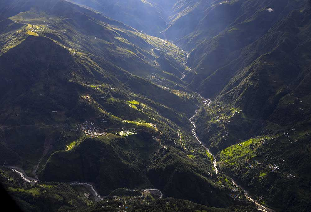 Fly with me and see the Aerial view of Nepal through my photos. #Landscape #Nepal