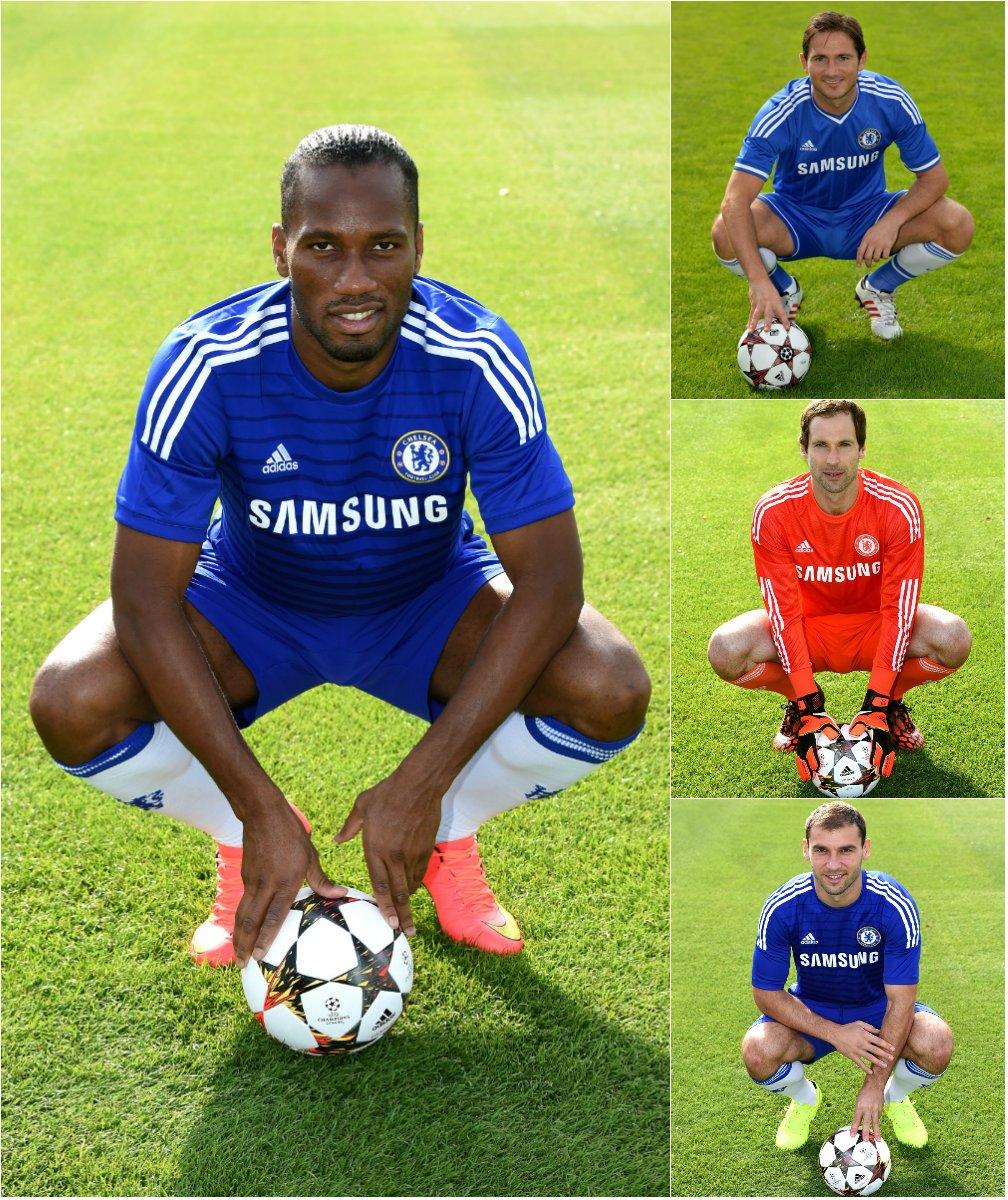 💙 Drogba, Lampard, Čech, Ivanović... 🔵 Your favourite Chelsea great? #UCL
