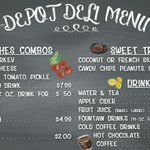 Image for the Tweet beginning: The Depot Deli offers many