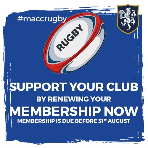 test Twitter Media - Have you renewed your membership with MRUFC  yet? https://t.co/SSL0Iagy59 #MaccRugby 🏉 https://t.co/N8lVyr2V17
