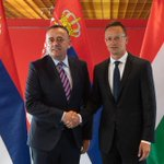 Image for the Tweet beginning: Ministar @AAnticBG sa ministrom spoljnih