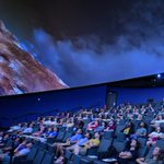 Yesterday, HPU students in Dr. Brad Barlow's astronomy course were the first in HPU's history to have class in the new Culp Planetarium. 🔭✨ The students were introduced to our solar system on the planetarium's 50-foot dome & 4k projection screen. 🌙 #HPU365