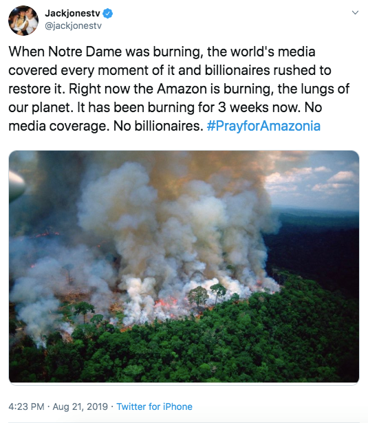 Wildfires raging in the Amazon rainforest have hit a record number this year, with 72,843 fires detected so far by Brazil's space research center INPE, as concerns grow over right-wing President Jair Bolsonaro's environmental policy. #PrayforAmazonas<br>http://pic.twitter.com/BN8ApPKFCv