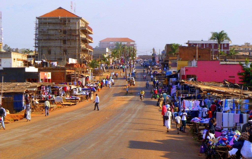Teen girls in Gulu