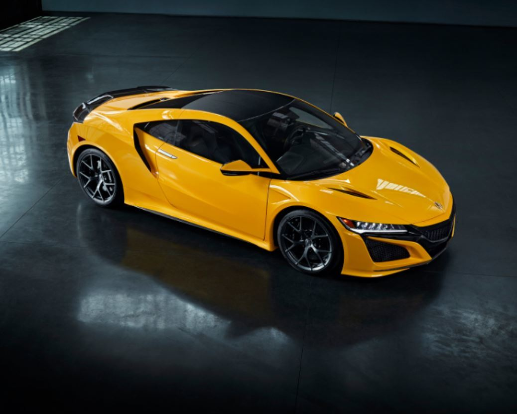 Ready to shine. The new 2020 Indy #Yellow Pearl #NSX.