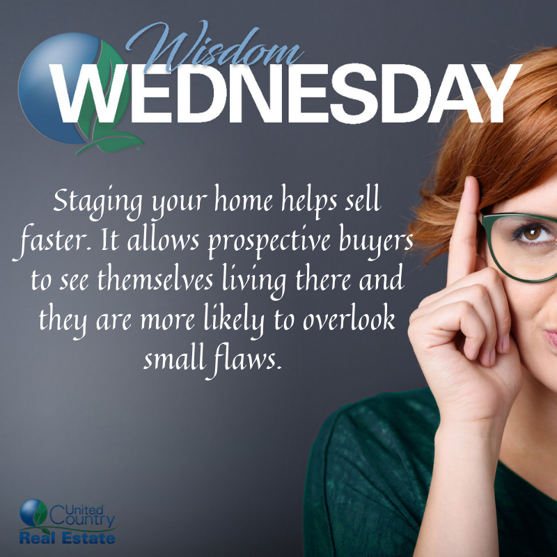 Happy #WisdomWednesday!  This week, we discuss the importance of staging your home/property. What do you want to learn more about? Let us know in the comments! <br>http://pic.twitter.com/8zLBdk9kyR