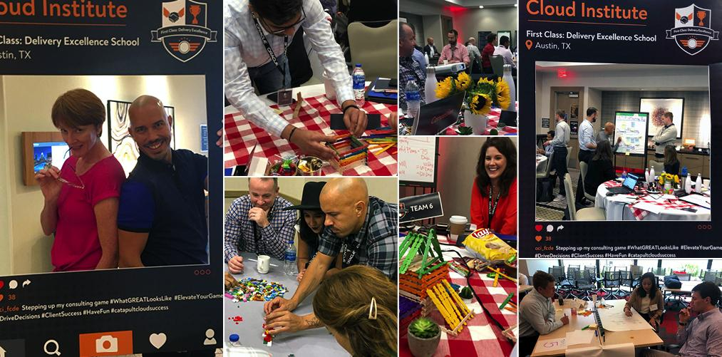 At our Cloud Institute 5-day immersive experience,  empowering our consultants to deliver spectacular results for our clients is our # 1 priority. #whatgreatlookslike #oracleconsulting #catapultcloudsuccess  http:// bit.ly/2TOih55     <br>http://pic.twitter.com/LCYQoozac8