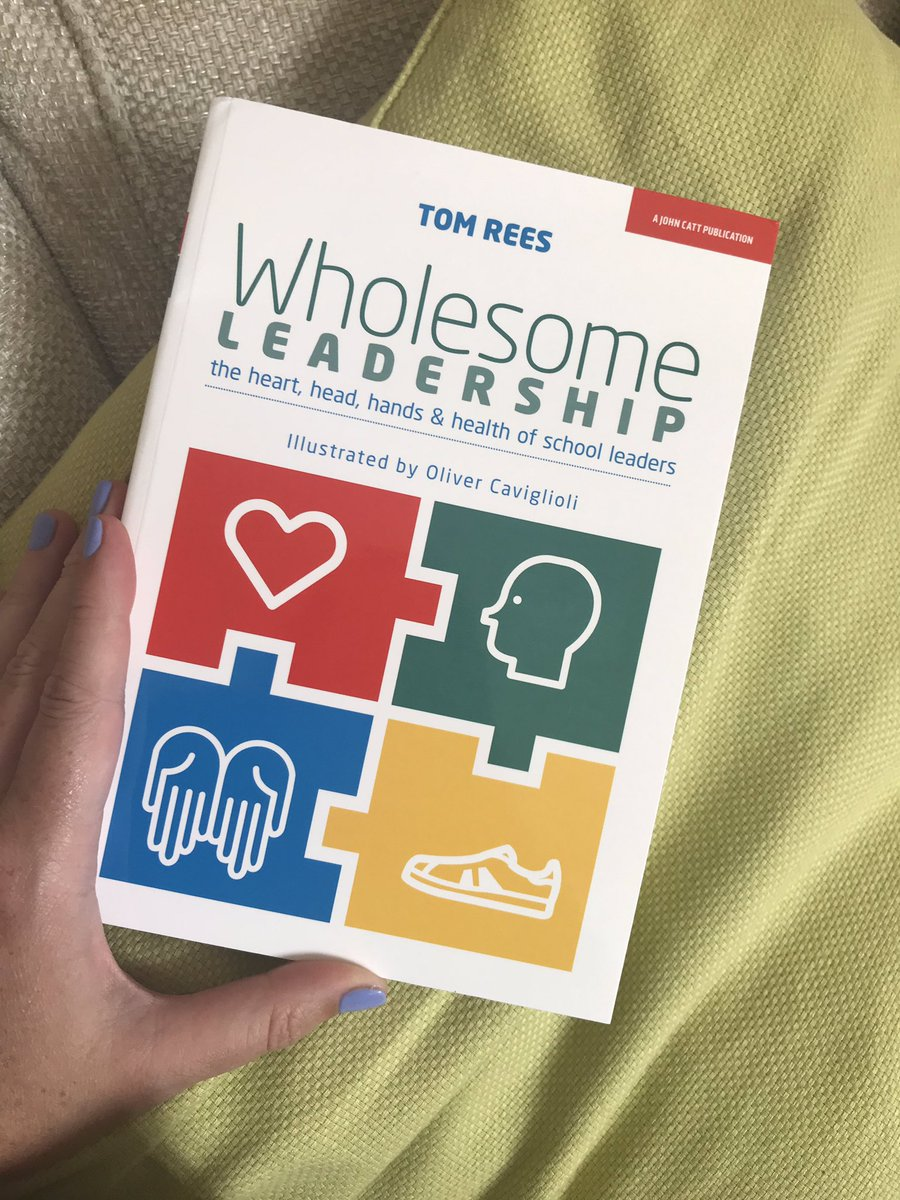 Look what's arrived today! Used my @TeacherTapp discount code at @JohnCattEd This beauty has been sitting in my online basket for a while! Thanks in advance @TomRees_77 😊#cpd #SLTchat #leadership