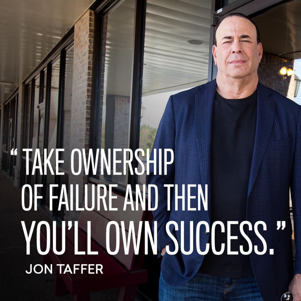 Own your failure. @JonTaffer #WisdomWednesday #BarRescue<br>http://pic.twitter.com/wDpc2xjovt