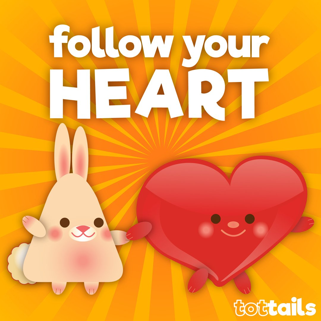 Teaching your kids how to follow their heart can help them in choosing a path in life they find satisfying. As parents, there are many things we can do to help them learn to listen to themselves.  #tottails #positivityforkids #positiveparenting #positivity #followyourheart<br>http://pic.twitter.com/i1LttessEw