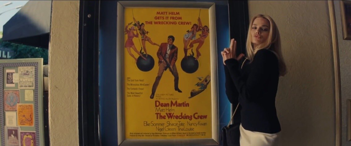 RT @fiIlmography: Once Upon a Time in Hollywood (2019) dir. Quentin Tarantino https://t.co/5MOTdLuG03